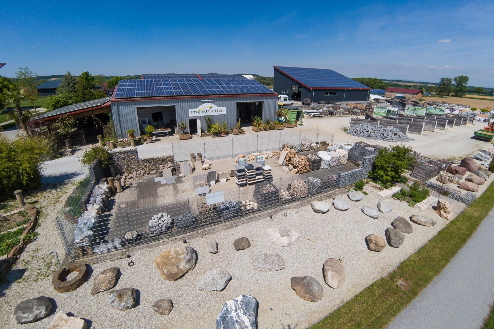 Projekt Garten - Natursteinhandel / Garten- und Landschaftsbau