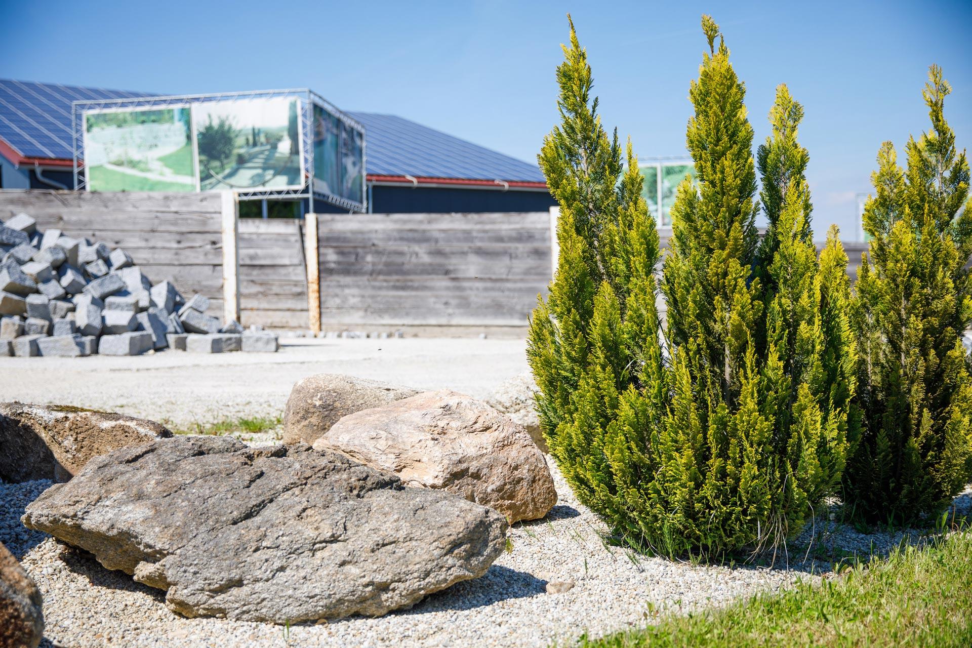 Beispielgarten bei Projekt Garten am Firmengelände